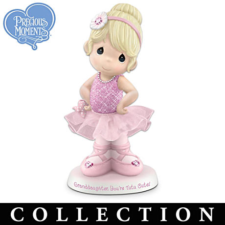Granddaughter Ballerina Figurines From Precious Moments