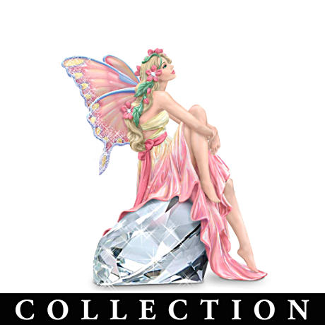 Raoul Vitale Breast Cancer Charity Fairies With Crystals