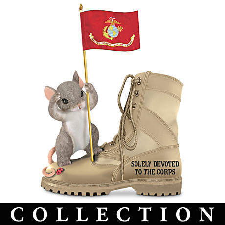 Charming Tails USMC Figurine Collection