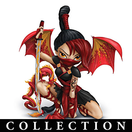 Ninja Fairy Figurine Collection By Jasmine Becket-Griffith