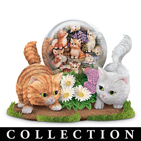 Kitten Figurines With Jürgen Scholz Kitten Art