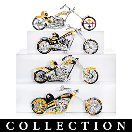 Pittsburgh Steelers Choppers With Team Logos And Graphics