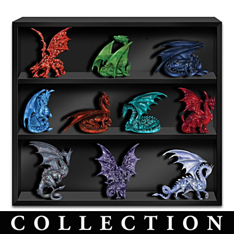 Blake Jensen Crystalline Gem Dragon Figurine Collection