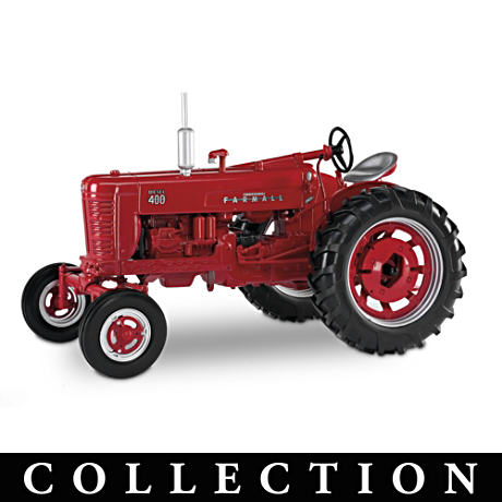 "1:16 Scale Farmall ""Revolutionary Red"" Diecast Tractors"
