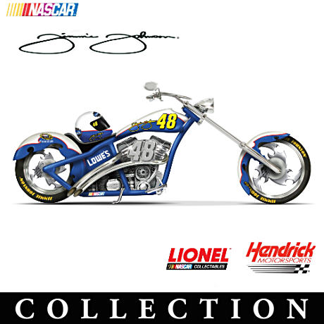 Jimmie Johnson Championship Choppers Figurine Collection