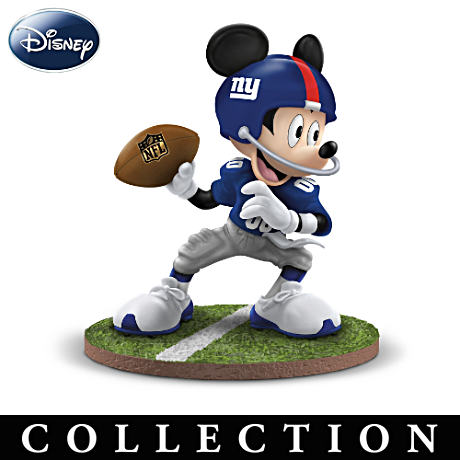 Giants Super Bowl Champions Disney Figurine Collection