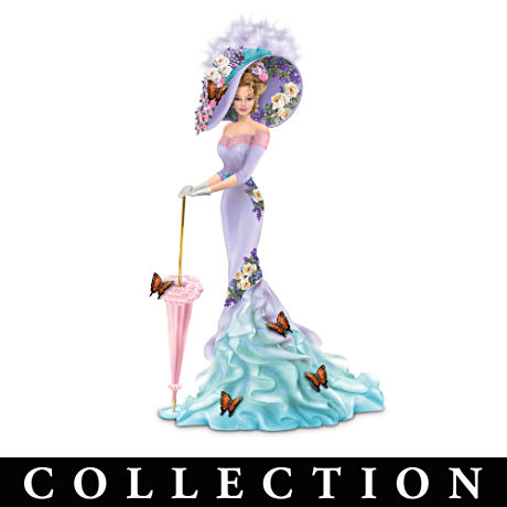 Lady Figurine Collection Adorned With The Art Of Lena Liu