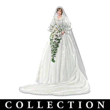 Princess Diana Commemorative Figurines In Her Iconic Gowns