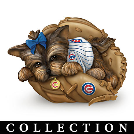Chicago Cubs Yorkie Figurine Collection