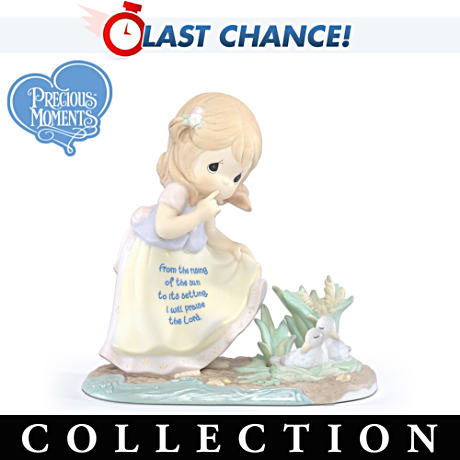 "Precious Moments ""Children Of Faith"" Inspirational Figurines"