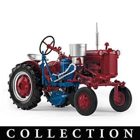 "1:16-Scale Farmall ""Powered By Red"" Diecast Tractors"