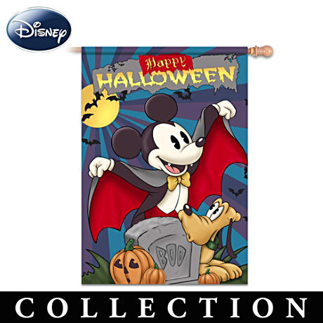 Retro Mickey Mouse Holiday Flag Collection