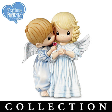 "Precious Moments ""Heaven Sent"" Angel Figurine Collection"