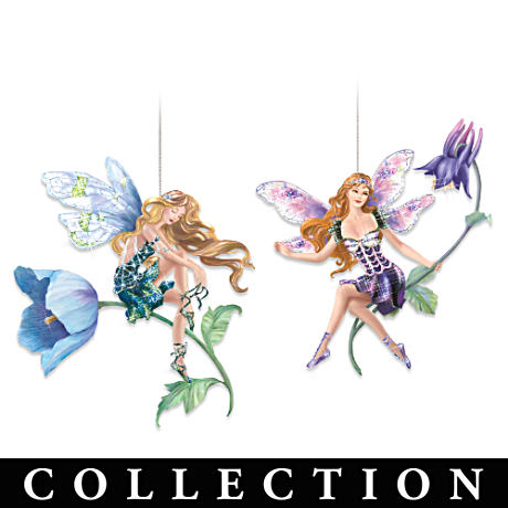 Garden Fairies Ornaments Collection