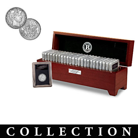 The Complete Barber Silver Quarter Coin Collection