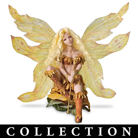 Four-Season Floral-Winged Forest Fairies Figurines