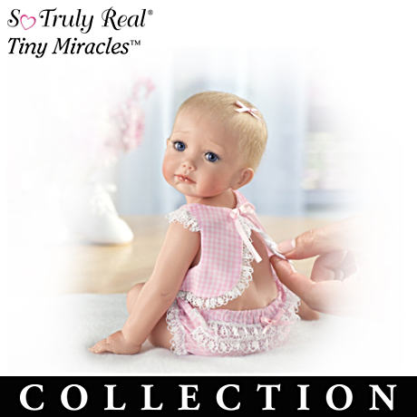 "Tiny Miracles Lifelike ""Just A Little Loving"" Dolls"