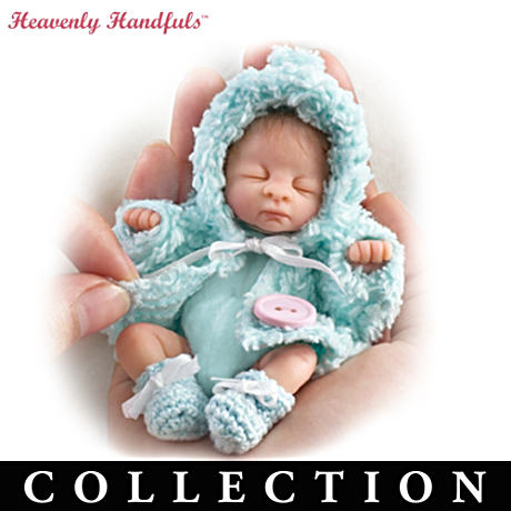"Heavenly Handfuls 5"" Poseable Lifelike Baby Dolls"