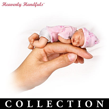 Heavenly Handfuls Miniature Lifelike Doll Collection