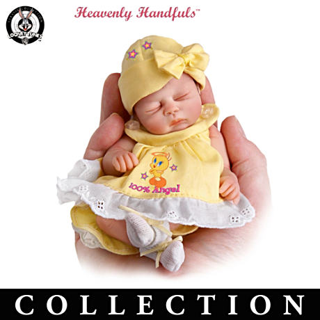 "TWEETY Sweeties 6"" Lifelike Doll Collection"