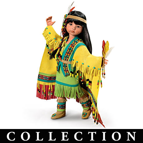 Native American-Inspired Ball-Jointed Doll Collection