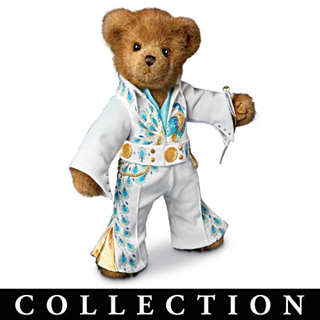 "Elvis Presley ""TCB Teddy Bear"" Collection"