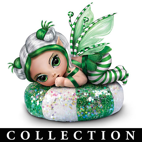 Jasmine Becket-Griffith Christmas Fairies Doll Collection