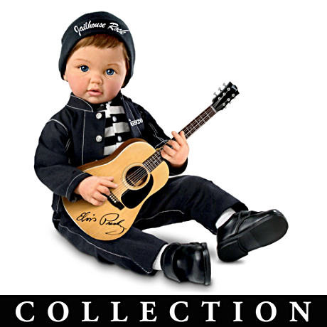 "Elvis Presley ""Baby, Let's Rock"" Dolls"