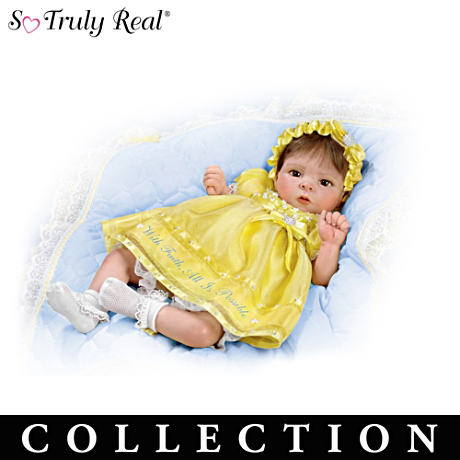 """Pearls Of Wisdom"" Lifelike Doll Collection"