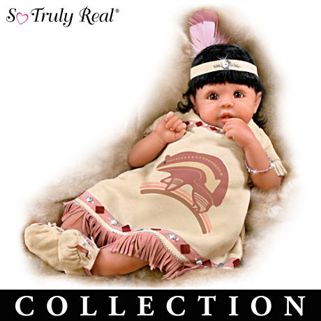 Native American-Inspired So Truly Real Dolls With Navajo Art