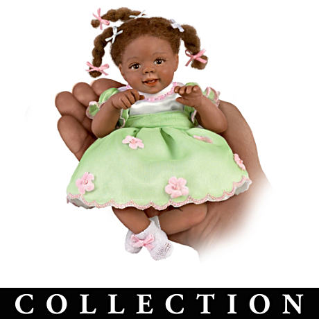 Miniature Dolls With Charms And FREE Wicker Basket