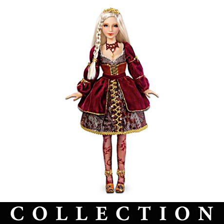"Poseable ""Romeo"" And ""Juliet"" Fashion Doll Collection"
