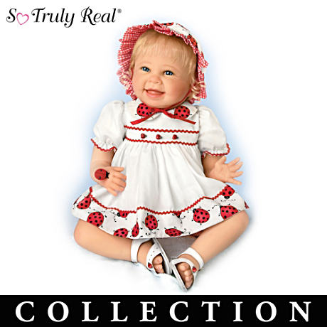 Lifelike Baby Dolls By Bonnie Chyle Celebrate Garden Friends