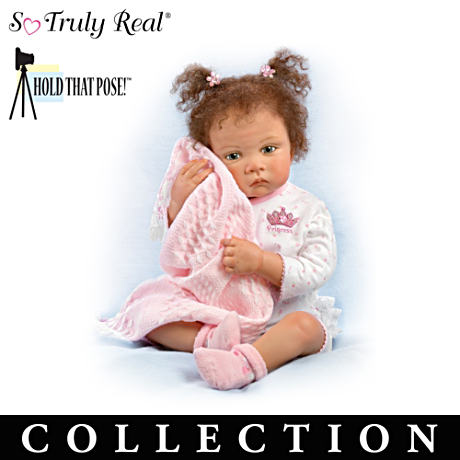 "Waltraud Hanl ""Lots Of Love"" Poseable Baby Doll Collection"