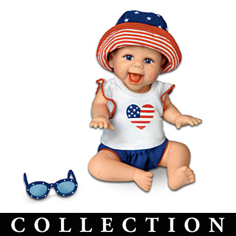 """America, We Love You!"" Miniature Baby Doll Collection"