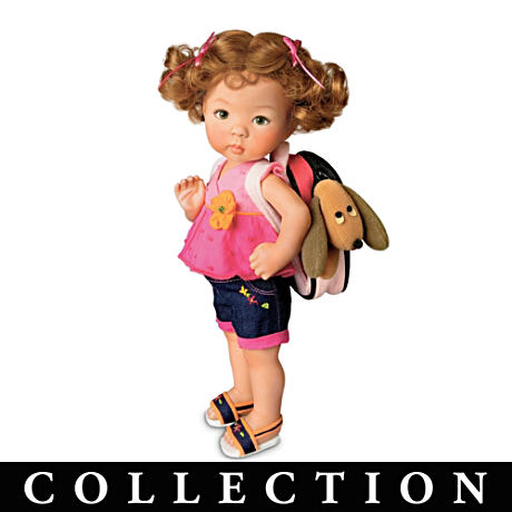 "Dianna Effner ""Taking A Friend To Grandma's"" Child Dolls"