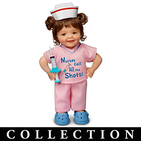 Cheryl Hill Lifelike Miniature Dolls Honor Nurses