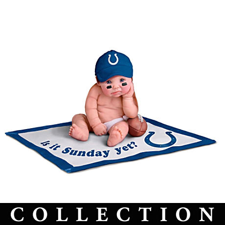 NFL Licensed Indianapolis Colts Baby Doll Collection
