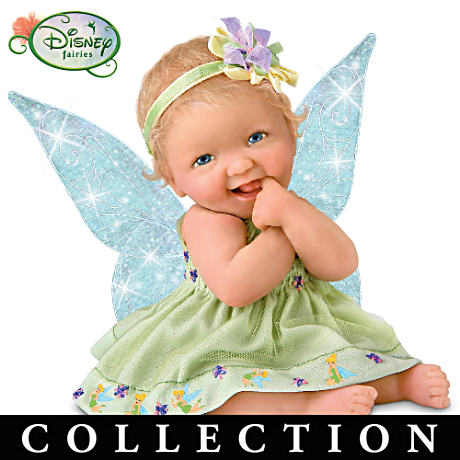 Ashton-Drake Presents Disney Tinker Bell Inspired Baby Dolls