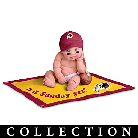 Washington Redskins #1 Fan Baby Doll Collection
