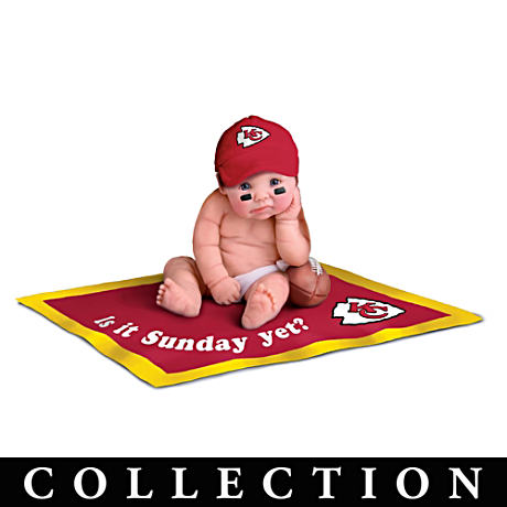 Kansas City Chiefs Fan Baby Doll Collection