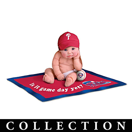 Philadelphia Phillies MLB Licensed Baby Doll Collection