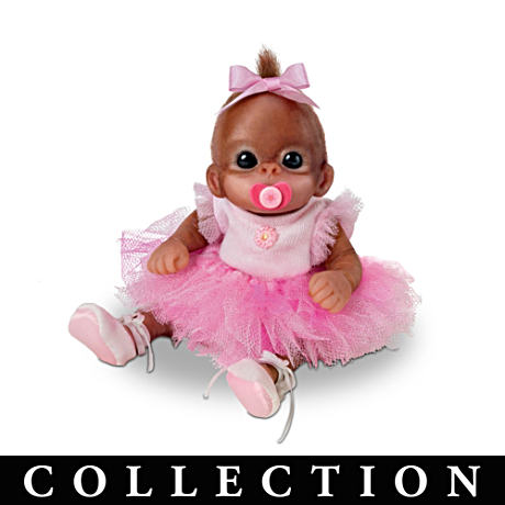 Cuddle Toes Monkey Doll Collection