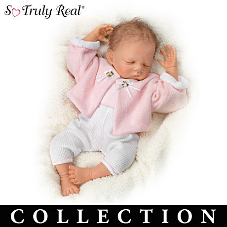 Waltraud Hanl Weighted Lifelike Baby Doll Collection