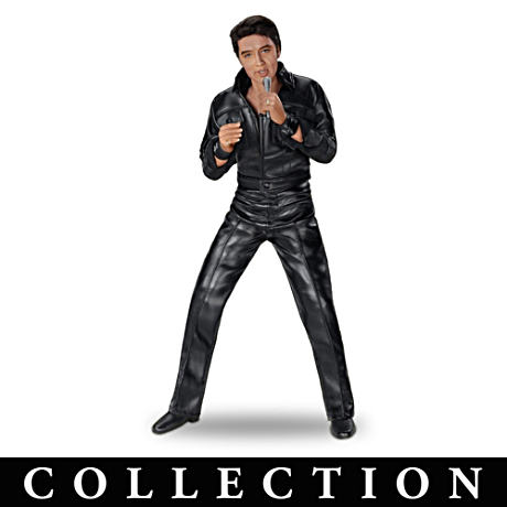 Singing Talking Elvis Presley Fashion Doll Collection