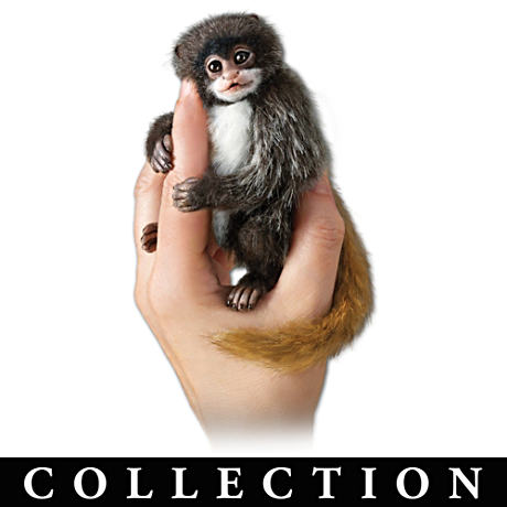 Angelica Holm Poseable Amazon Finger Monkey Dolls