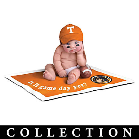 """Tennessee Volunteers #1 Fan"" Commemorative Doll Collection"