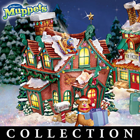 Jim Henson's Muppets North Pole Christmas Village Collection