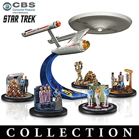 STAR TREK U.S.S. Enterprise Figurine Collection