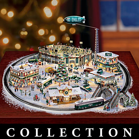 Officially Licensed Philadelphia Eagles Village Collection